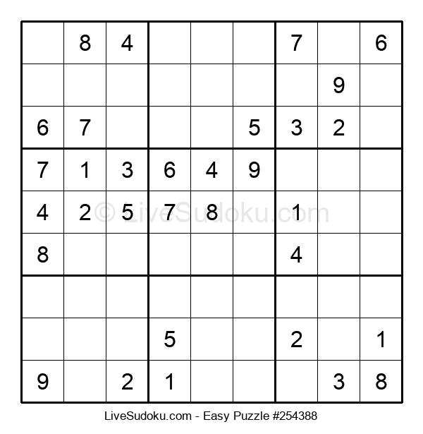 Beginners Puzzle #254388