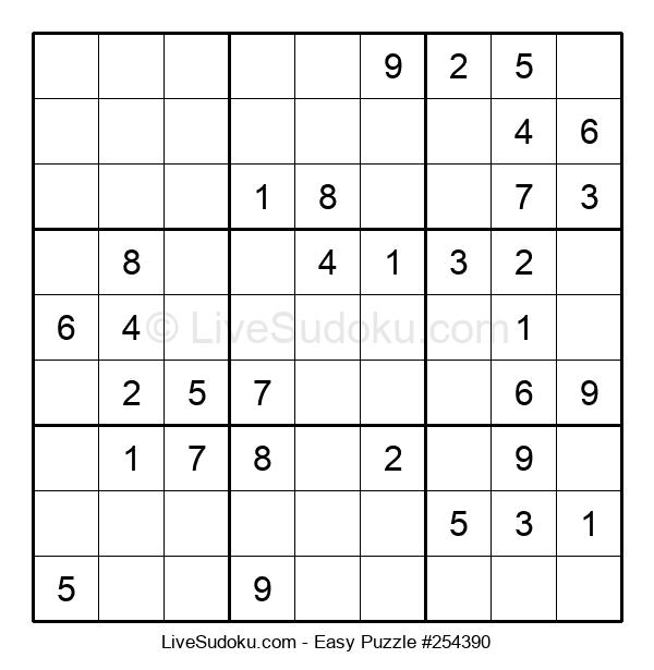 Beginners Puzzle #254390