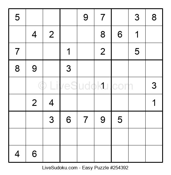 Beginners Puzzle #254392