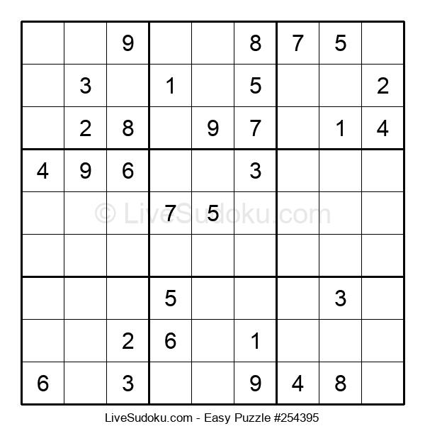 Beginners Puzzle #254395