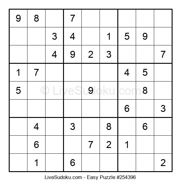 Beginners Puzzle #254396