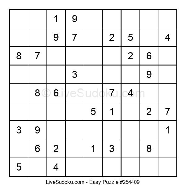 Beginners Puzzle #254409