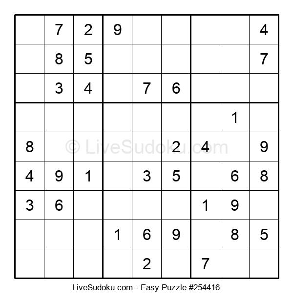 Beginners Puzzle #254416