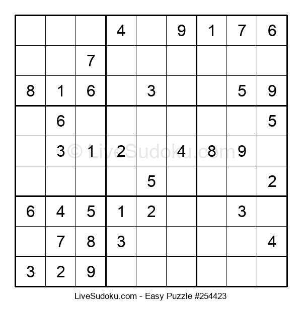 Beginners Puzzle #254423