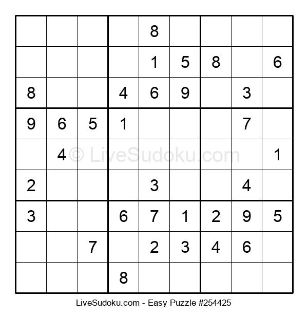 Beginners Puzzle #254425
