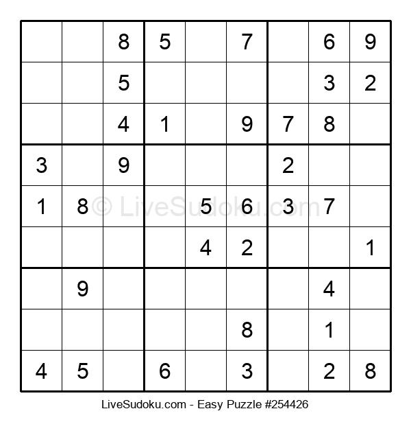 Beginners Puzzle #254426