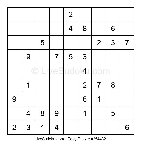 Beginners Puzzle #254432