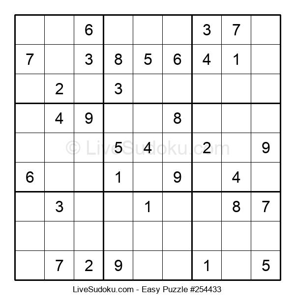 Beginners Puzzle #254433