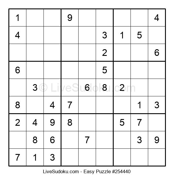 Beginners Puzzle #254440