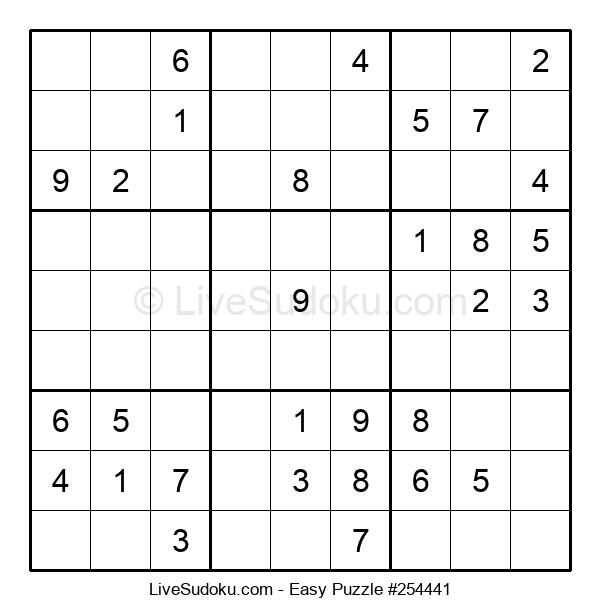 Beginners Puzzle #254441