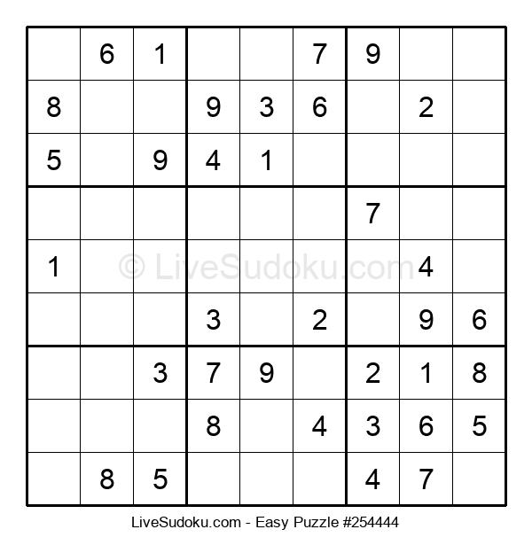 Beginners Puzzle #254444