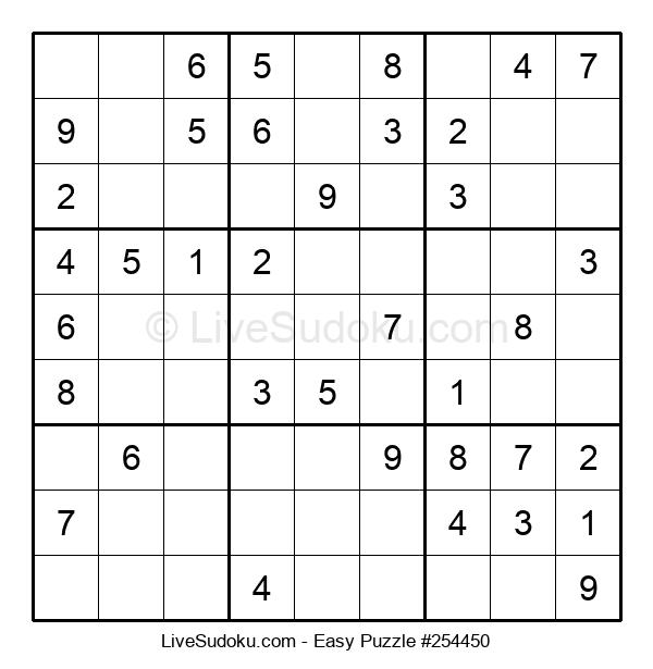 Beginners Puzzle #254450