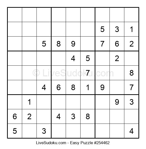 Beginners Puzzle #254462