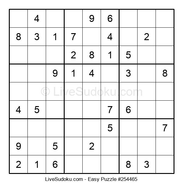 Beginners Puzzle #254465