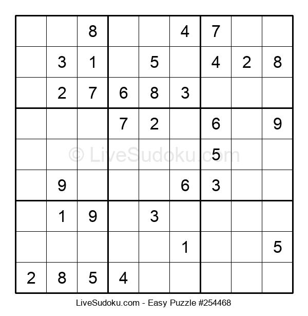 Beginners Puzzle #254468
