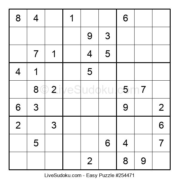 Beginners Puzzle #254471