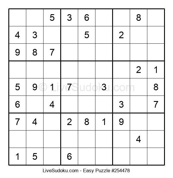 Beginners Puzzle #254478