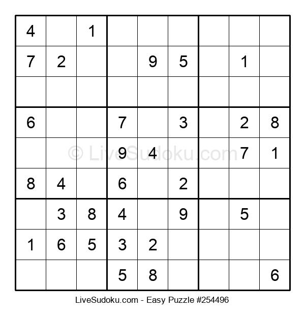 Beginners Puzzle #254496