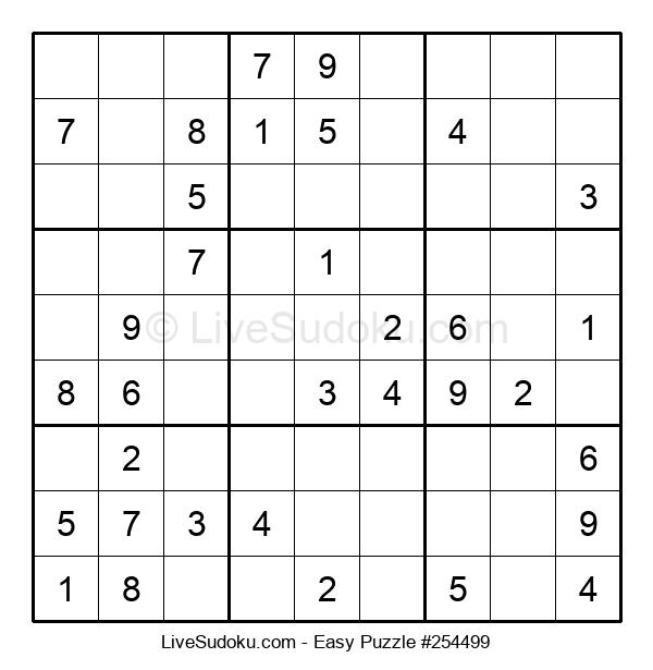 Beginners Puzzle #254499