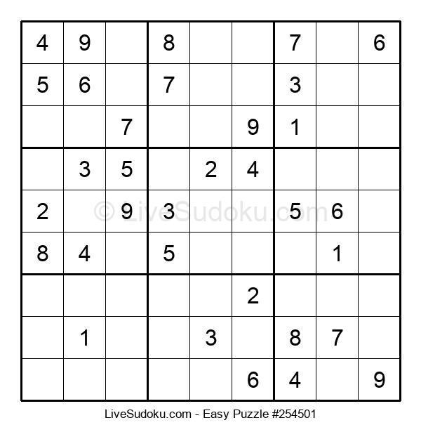 Beginners Puzzle #254501