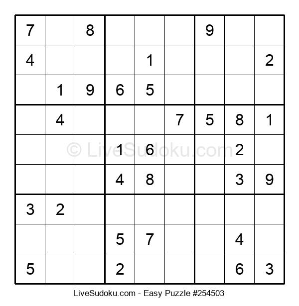 Beginners Puzzle #254503
