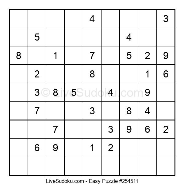 Beginners Puzzle #254511