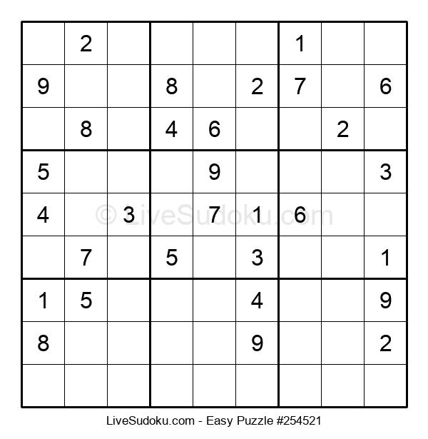 Beginners Puzzle #254521