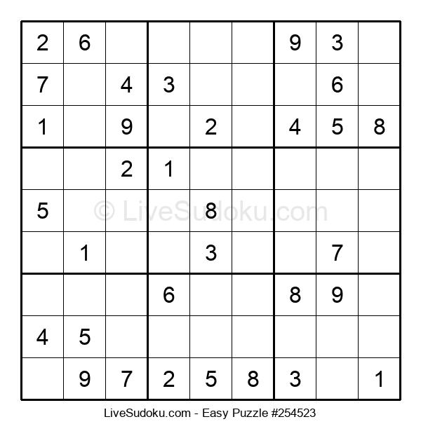 Beginners Puzzle #254523