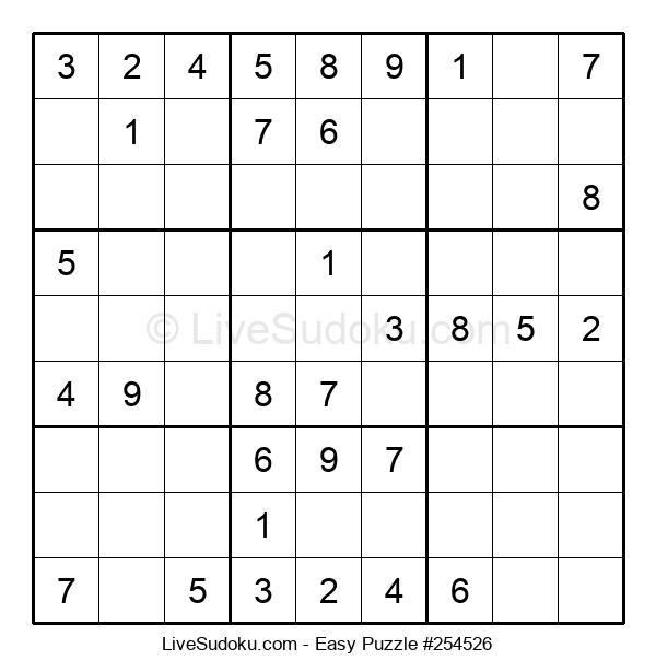Beginners Puzzle #254526