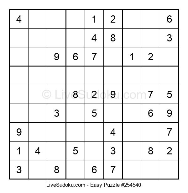 Beginners Puzzle #254540