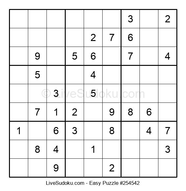 Beginners Puzzle #254542