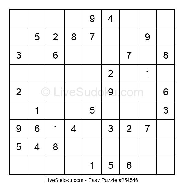 Beginners Puzzle #254546