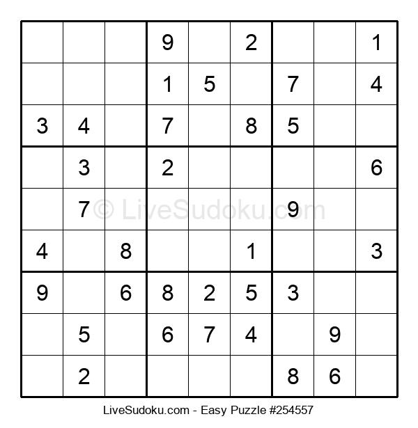 Beginners Puzzle #254557