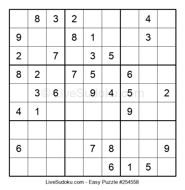 Beginners Puzzle #254558
