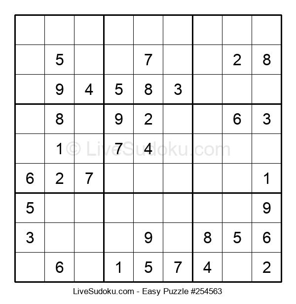 Beginners Puzzle #254563