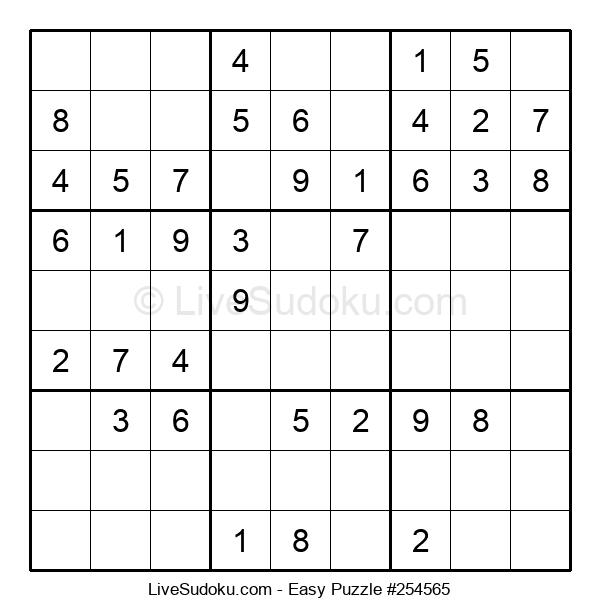 Beginners Puzzle #254565
