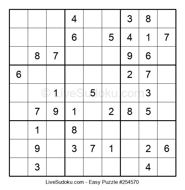 Beginners Puzzle #254570