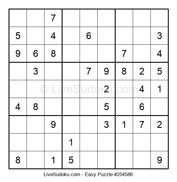 Beginners Puzzle #254586