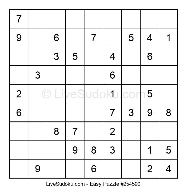 Beginners Puzzle #254590