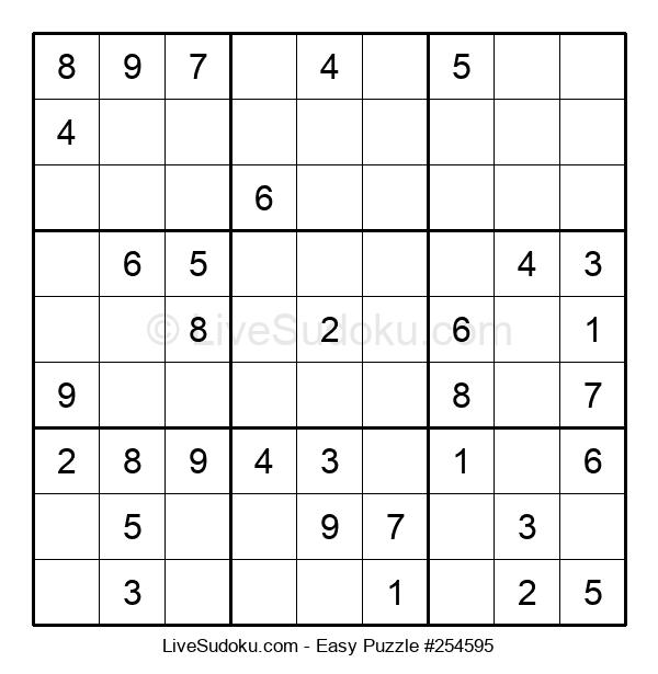 Beginners Puzzle #254595