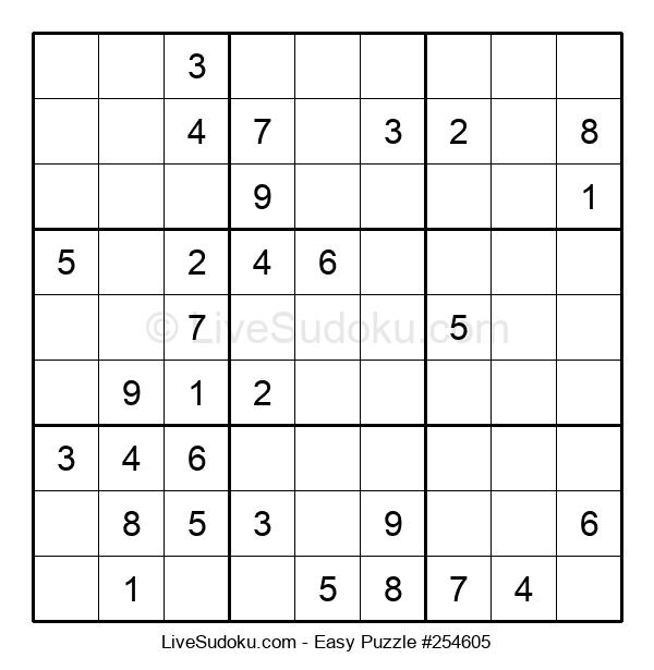 Beginners Puzzle #254605