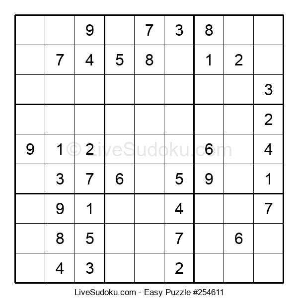 Beginners Puzzle #254611