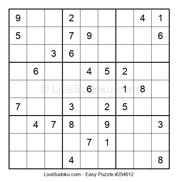 Beginners Puzzle #254612