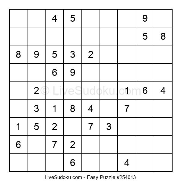 Beginners Puzzle #254613