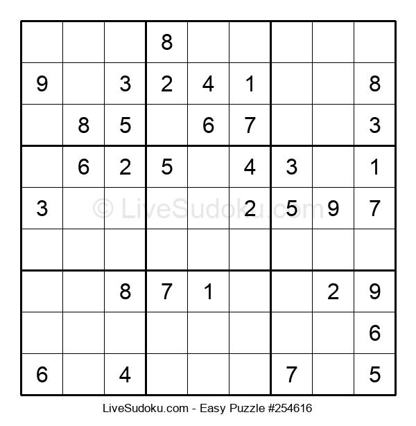 Beginners Puzzle #254616