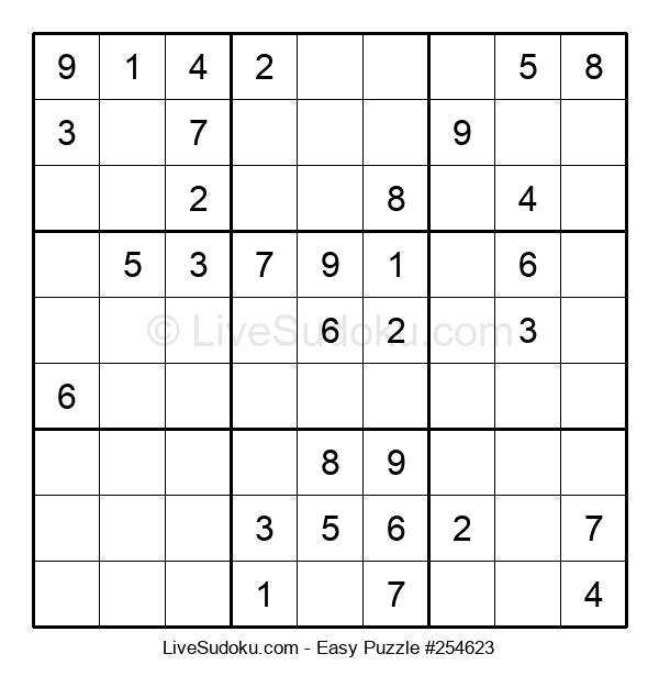 Beginners Puzzle #254623