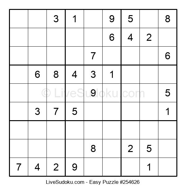 Beginners Puzzle #254626
