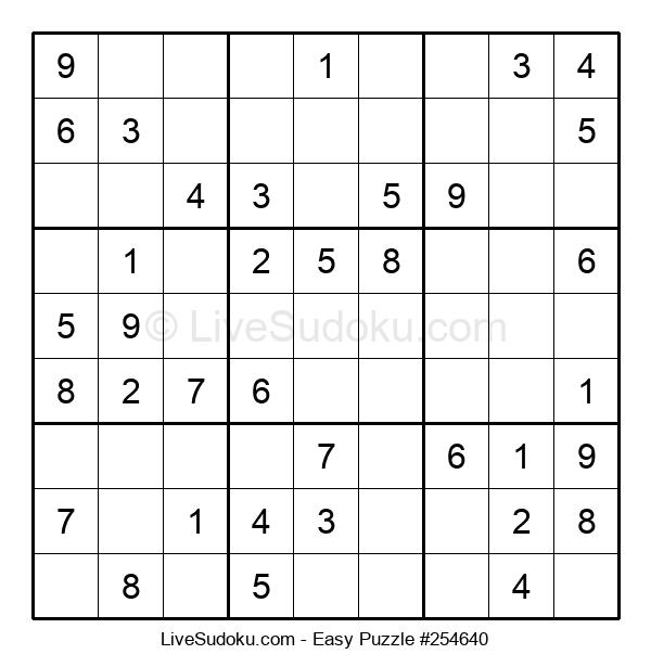 Beginners Puzzle #254640