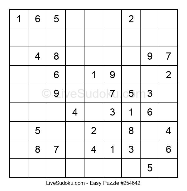 Beginners Puzzle #254642