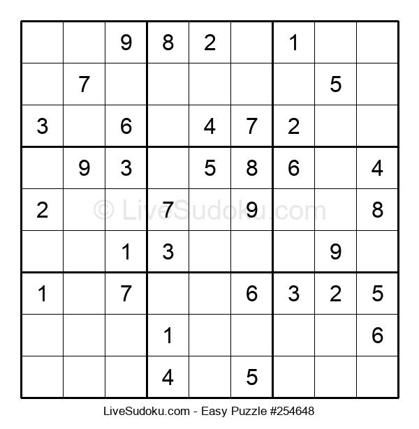 Beginners Puzzle #254648